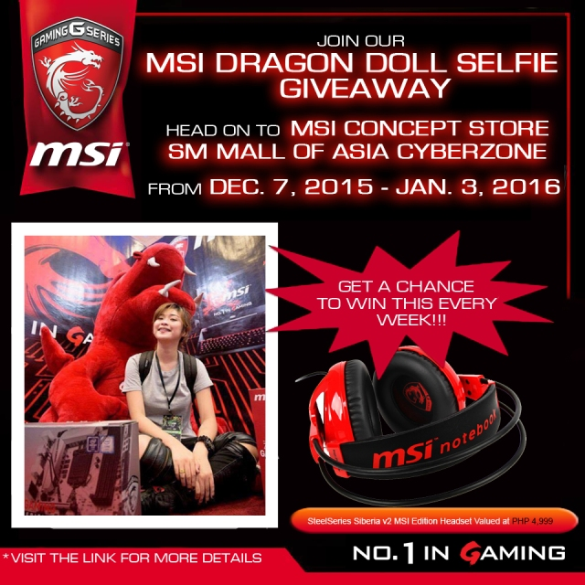 MSI DRAGON DOLL PROMO
